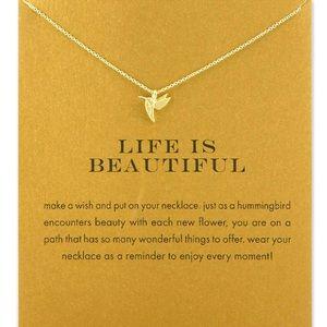 Jewelry - Woodpecker Animal Short Chain Necklace Pendant
